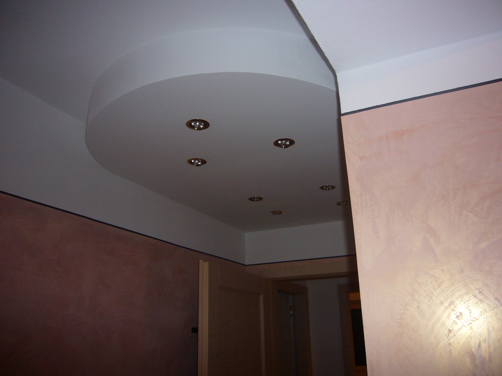 Soffitto in cartongesso con faretti. interesting soffitto